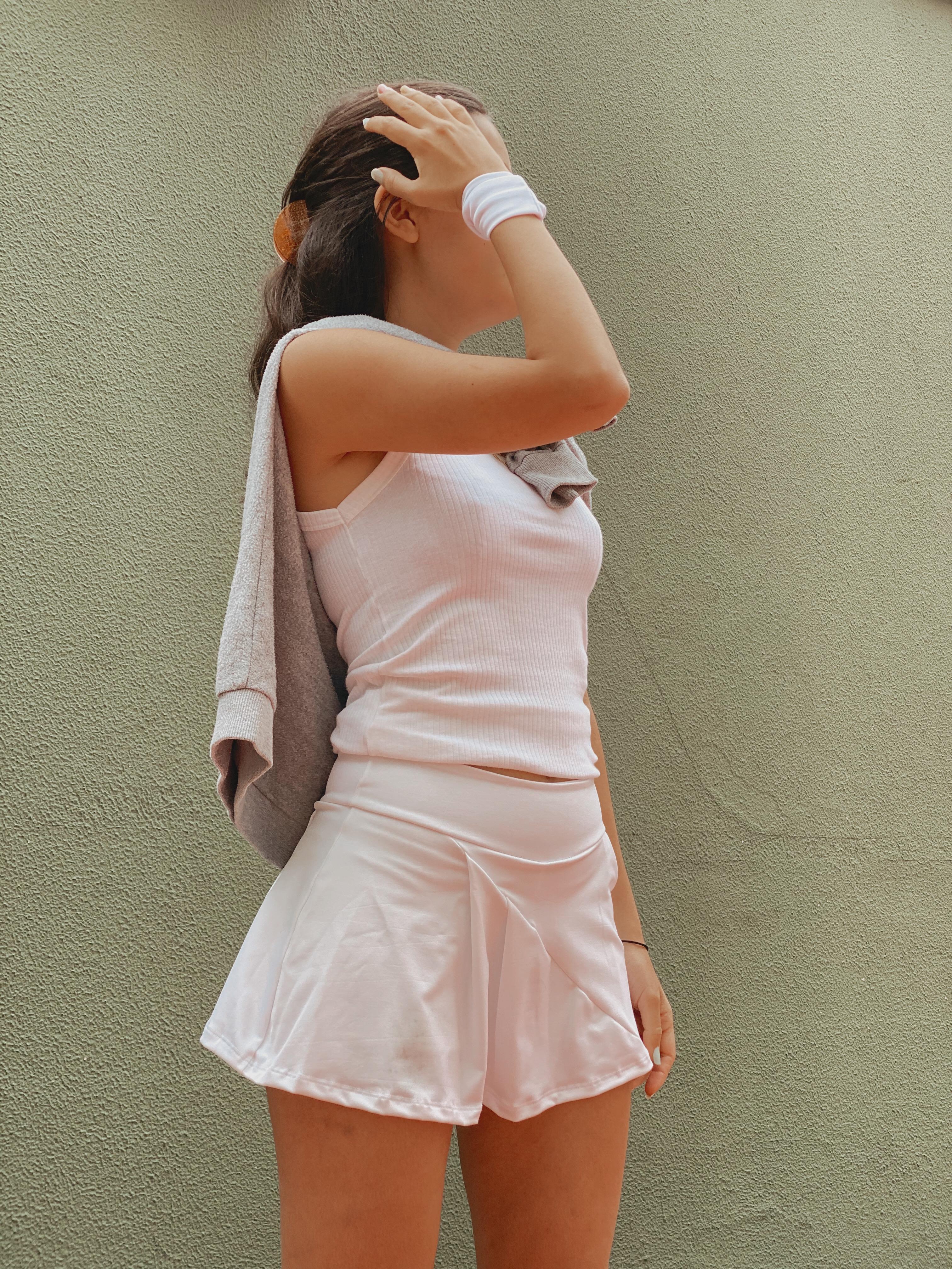 Trend Alert My Tennis Skirt Outfit Miss Mingrone